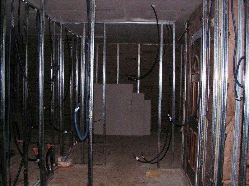 construction de la maison de la petite famille 07 travaux mars 2008. Black Bedroom Furniture Sets. Home Design Ideas